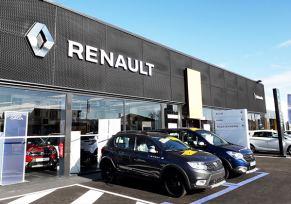 Nouveau look pour la concession de edenauto Renault Villeneuve-sur-Lot