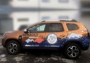 Renault/Dacia Tarbes partenaire de l'étape du Berger