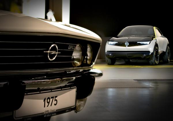 L'Opel GT X Experimental et la Manta A présentés au Festival Automobile International du 29 janvier au 2 février 2020