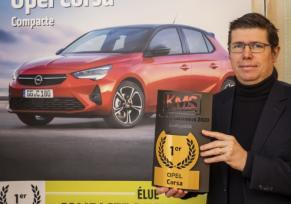 La nouvelle Opel Corsa élue « Compacte Business 2020 »