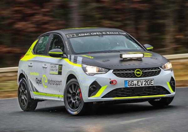 Holzer et Michelin, nouveaux partenaires pour l'ADAC Opel e-Rally Cup