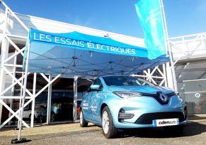 Des essais électriques chez edenauto Renault Agen