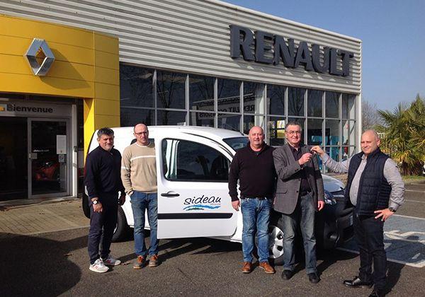 Le Maire de Mirande et la société SIDEAU passent à l'électrique avec Renault