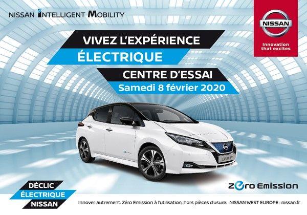 L'expérience électrique chez edenauto Nissan Pau Lescar