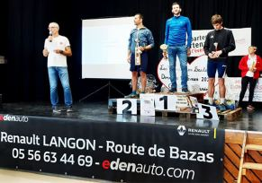 Renault Langon au Trail de Fargues
