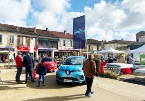 Renault Tarbes au marché de Trie