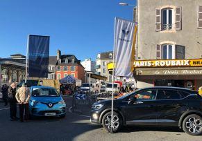 Renault Tarbes au marché Tarbais