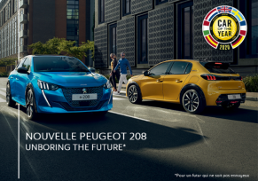 La nouvelle PEUGEOT 208  : Car of the Year 2020