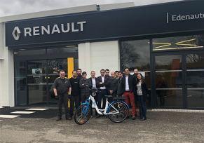 Les Renault du Gers vous prêtent un vélo électrique