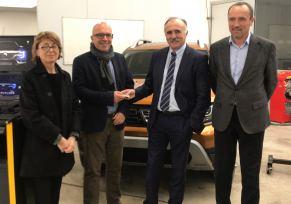 Le groupe automobile Renault, partenaire de l'Université des Métiers de Pau