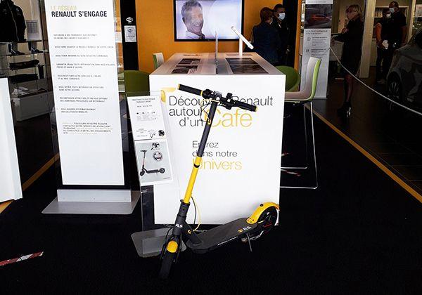 La trottinette électrique Renault Sport débarque à Tarbes
