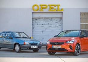 Avant l'Opel Corsa-e : il y a 30 ans, la Kadett Impuls I