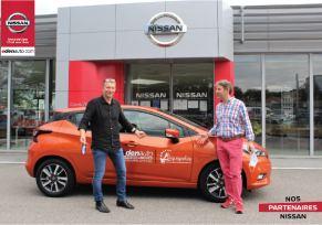 Renouvellement de notre partenariat edenauto Nissan Limoges x L'Aquapolis