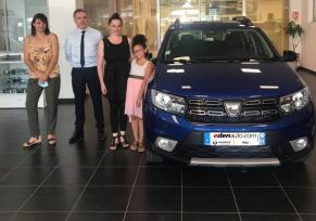 Renault - Dacia Pau : la gagnante des 15 ans DACIA