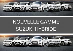 Nouvelle gamme suzuki hybride