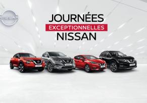 Les Journées Exceptionnelles Nissan les 12 et 13 Septembre !