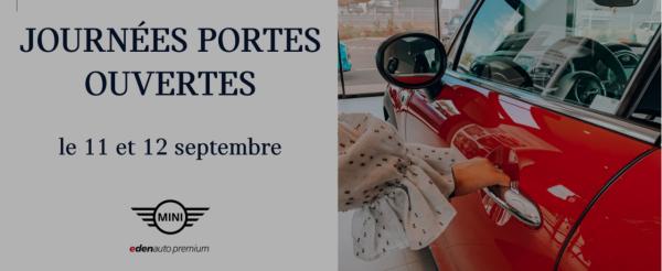 JOURNÉES PORTES OUVERTES MINI - Edenauto le 28 sept. 2020