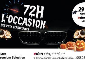 72h de l'occasion BMW : 29-31 Octobre 2020.