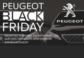 BLACK FRIDAY PEUGEOT : Des prix imbattables durant 8 jours !