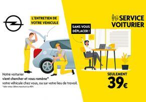 Service voiturier OPEL : on s'occupe de votre véhicule de A à Z !