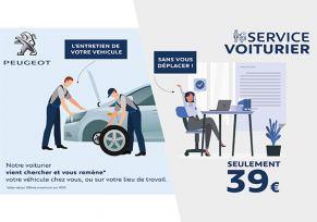 Service voiturier PEUGEOT : on s'occupe de votre véhicule de A à Z !