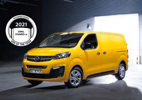 Actu automobile: Le nouvel Opel Vivaro-e élu « International Van of the Year 2021 »