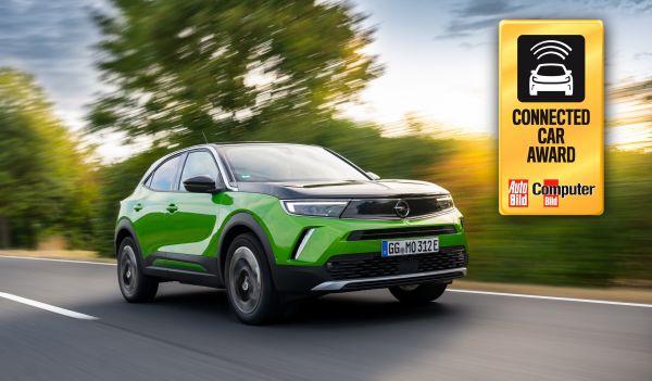 Le nouvel Opel Mokka-e remporte le « Connected Car Award »
