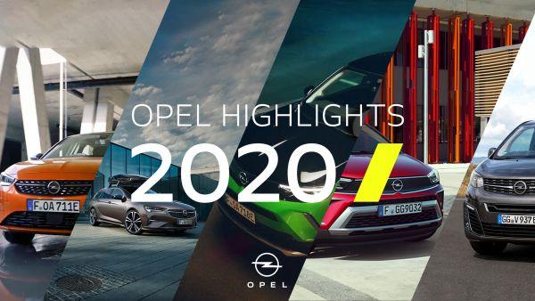 L'année Opel 2020