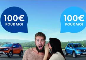 Actu automobile: Parrainage Dacia