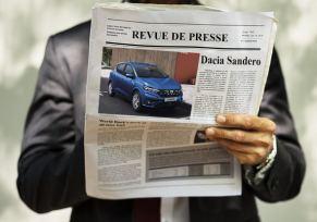 REVUE DE PRESSE : Dacia la voiture préférée des Français
