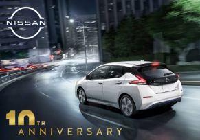 Actu automobile: Nissan Leaf : 10 ans déjà !