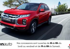 Actu automobile: Nouveaux Horaires: nos concessions Mitsubishi s'adaptent