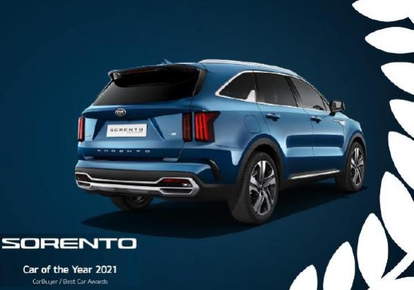 Le nouveau Kia Sorento désigné Car of the Year 2021