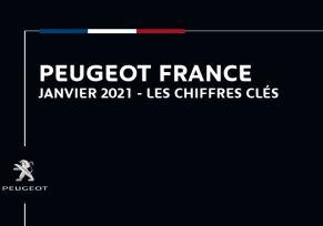 Actu automobile: Peugeot France : Les chiffres clés de janvier 2021