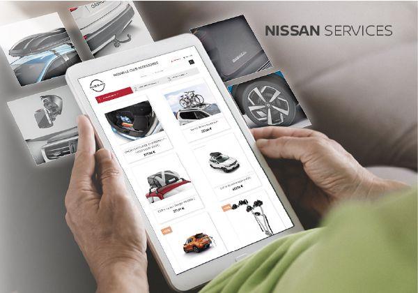 Découvrez Nissan Le Club Accessoires !