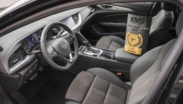 Opel Insignia : élue routière business 2021 !