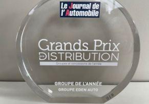 edenauto remporte le Prix du Groupe automobile de l'année 2021 !