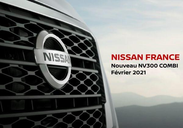 Le Nissan NV300 Combi fait peau neuve