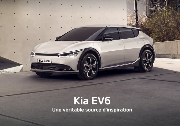 Le Kia EV6 : Une véritable source d'inspiration