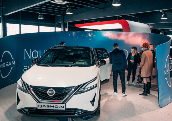 Road Show Nouveau Nissan Qashqai