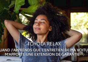 TOYOTA RELAX : quand l'entretien de votre voiture vous apporte une extension de garantie