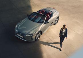 : LEXUS LC 500 CABRIOLET, élu Meilleure Voiture de luxe 2021 par le WWCoty