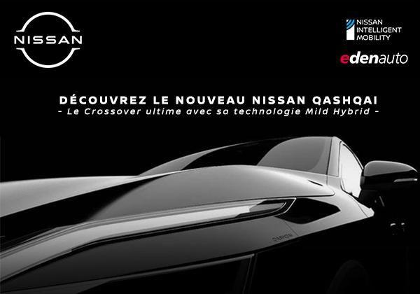 Découvrez le Nouveau Nissan Qashqai dans votre concession edenauto Nissan Niort