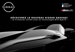 Actu automobile: Découvrez le Nouveau Nissan Qashqai dans votre concession edenauto Nissan Niort