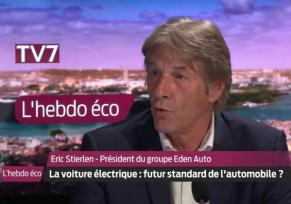 Actu automobile: Émission l'Hebdo Éco | Interview de notre président Éric Stierlen
