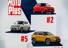 Actualité des marques : SUZUKI ET L'HYBRIDE : 3 modèles dans le classement AutoPlus !