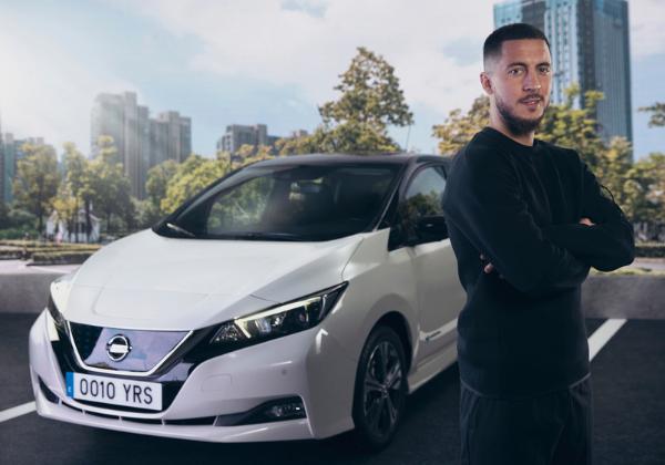 500 000 Nissan LEAF sur les routes… dont celle d'Eden Hazard ! - Edenauto le 17 mai 2021