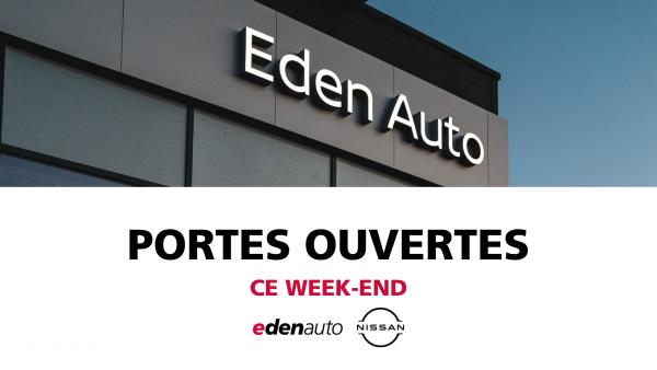 JOURNEES PORTES OUVERTES edenauto Nissan du 11 au 13 juin - Edenauto le 10 juin 2021