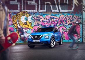 Nouveaux modèles : Nissan JUKE en milieu urbain