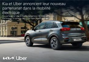 : Nouveau partenariat : Kia Europe et Uber